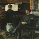 manlisteningtowifeplaypiano