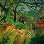 tigergoingthroughwoods