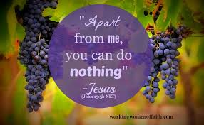 Nothing apart from Jesus